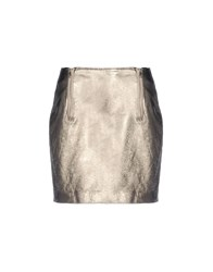 George J. Love Skirts Mini Skirts Women Platinum