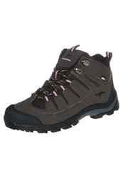 Kangaroos Ktrekking Walking Boots Chocolate Black Pinkyboo Brown
