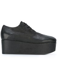 Marsell Platform Lace Up Shoes Black