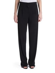 Emilio Pucci Relaxed Fit Jersey Trousers Black