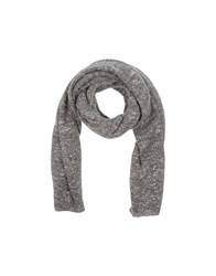 Jucca Accessories Oblong Scarves Women Grey