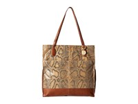 Hobo Finley Autumn Python Tote Handbags Brown
