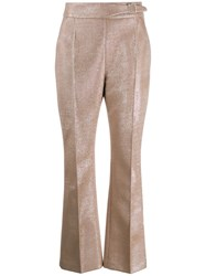 Ermanno Scervino High Waisted Trousers Pink
