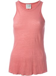 Forte Forte Round Neck Tank Top Pink And Purple