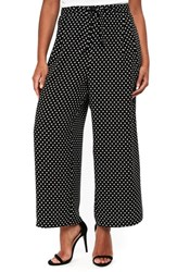 Evans Plus Size Spot Wide Leg Pants