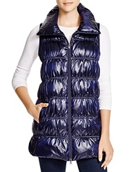 Eileen Fisher Down Puffer Vest Bloomingdale's Exclusive Midnight