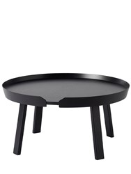 Muuto Large Around Coffee Table Black