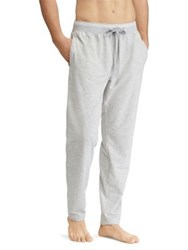 Ralph Lauren Slim Fit Terry Cotton Sleep Pants Spring Heather