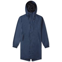 Rains Fishtail Parka Jacket Blue