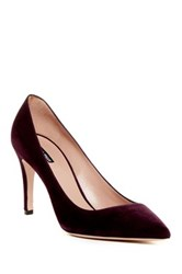 Giorgio Armani Pointed Toe Pump Red