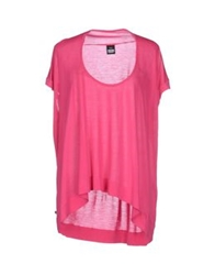 Dr. Denim Jeansmakers T Shirts Fuchsia