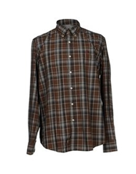 Mcs Marlboro Classics Shirts Dark Brown
