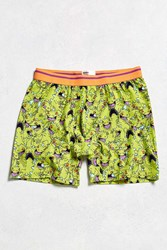 Urban Outfitters Reptar Boxer Brief Green