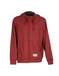 Pepe Jeans Topwear Sweatshirts Men Brick Red
