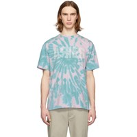 Aries Pink And Green Tie Dye Go Your Own Way T Shirt
