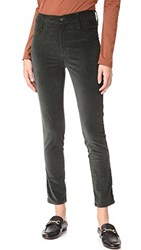 James Jeans Velveteen Skinny High Rise Legging Ivy