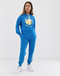 Juicy Couture By Logo Jogger Blue