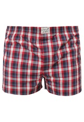 Tom Tailor Manufactory Boxer Shorts Cardinal Red