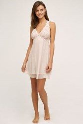Anthropologie Clo Intimo Fortuna Chemise Pink