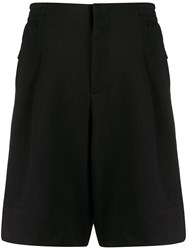 Y 3 Wide Leg Shorts Black