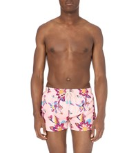 Oiler And Boiler Shorties Dahlia Swim Shorts Pink