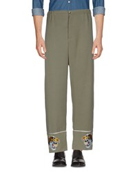 Laneus Casual Pants Military Green