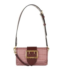 Burberry Shoes And Accessories Alligator Buckle Bag Female Rose