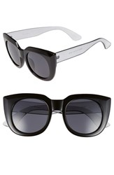 Women's A.J. Morgan 'Beam' 50Mm Sunglasses Black