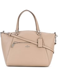 Coach Prairie Satchel Women Calf Leather One Size