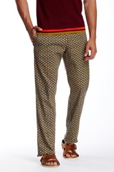 Parke And Ronen Medallion Print Lido Trouser Multi
