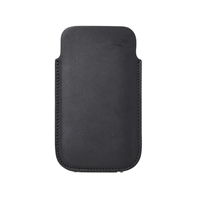 Rick Owens Leather Iphone Case Black
