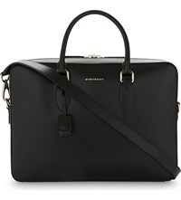 Burberry Hambleton Leather Briefcase Black