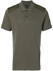 Belstaff Hitchin Cotton Pique Polo Shirt Green