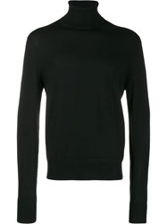 Tom Ford Turtleneck Knitted Sweater Black