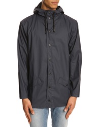 Rains Blue Waterproof Jacket