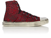 Amiri Sunset Vintage Canvas Sneakers Red