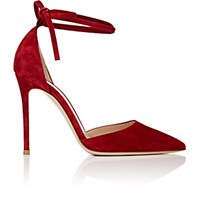 Gianvito Rossi Women's D'orsay Pumps Burgundy