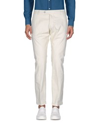 Michael Coal Casual Pants Ivory