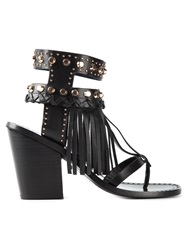 Ivy Kirzhner Fringed Sandals