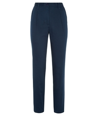 People Tree Clara Chino Trousers Blue