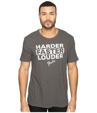 Lucky Brand Fender Louder Graphic Tee Black Mountain Men's T Shirt