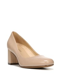 Naturalizer Whitney Leather Pumps Taupe