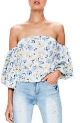 Missguided Women's Bardot Off The Shoulder Blouse