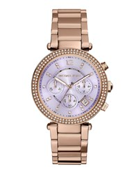 Parker Rose Golden Glitz Watch Michael Kors Rosegold