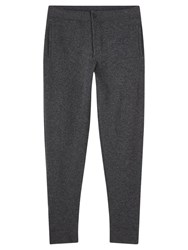 Jigsaw Soft Wool Cotton Joggers Grey