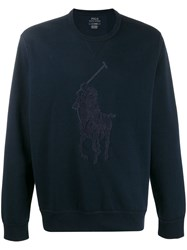 Ralph Lauren Knitted Jumper Blue