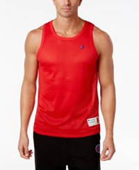 Champion Men's Mesh Tank Top Champion Scarlet