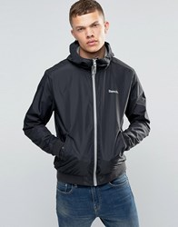 Bench Zip Through Lightweight Jacket In Black Black