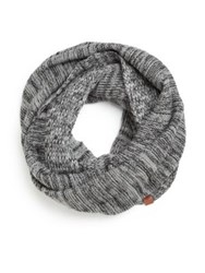 Bickley And Mitchell Wool Blend Infinity Scarf Grey