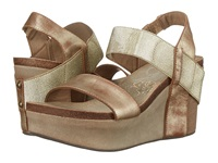 Otbt Bushnell Gold Women's Wedge Shoes